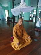 A Vietnamese monk